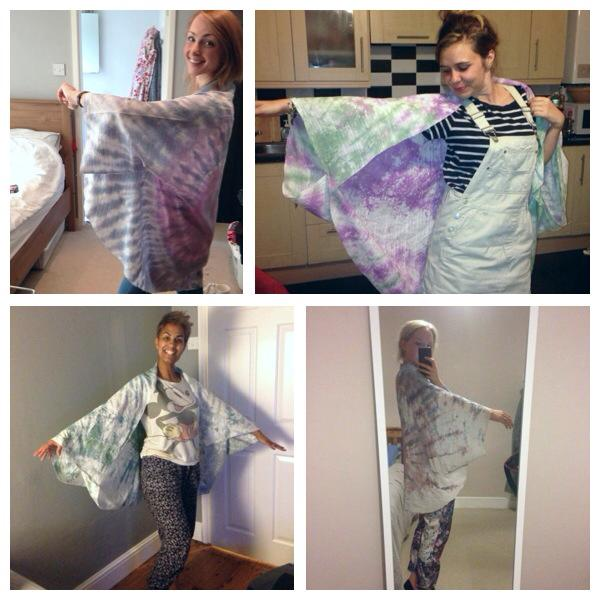 finished kimonos