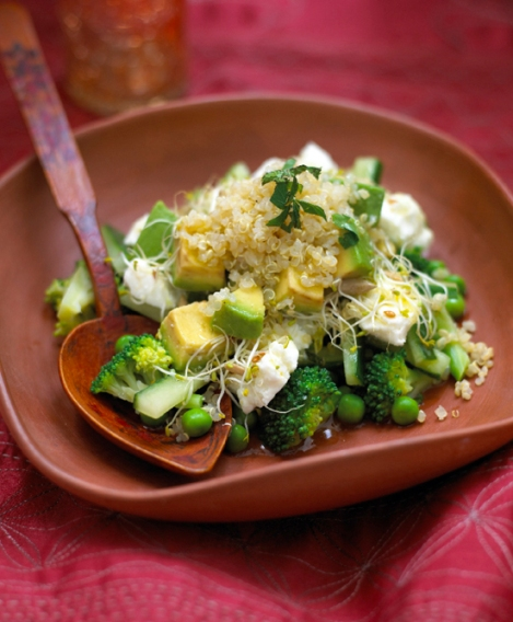 Photo Credit: Leon's Superfood Salad in DK's Fairtrade Everyday Cookbook