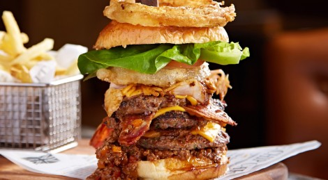 One Serious Burger at the Pit Bar. Photo Credit: Arc Inspirations