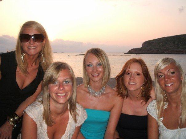 Deserted Ibiza sunset...
