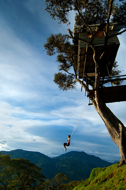 Ecuador Swing at the End of the World