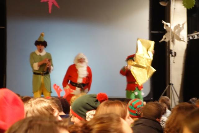Elf at Leeds dock