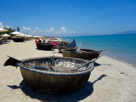 An Bang Beach Fishing Boats